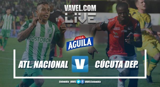 Resumen Atlético Nacional vs. Cúcuta Deportivo por Liga Aguila 2019-II (2-3)