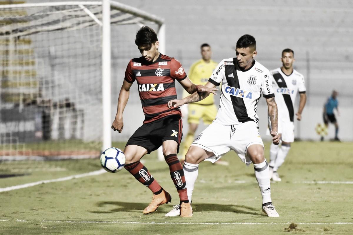 Resultado Flamengo x Ponte Preta pela Copa do Brasil 2018 (0-0)