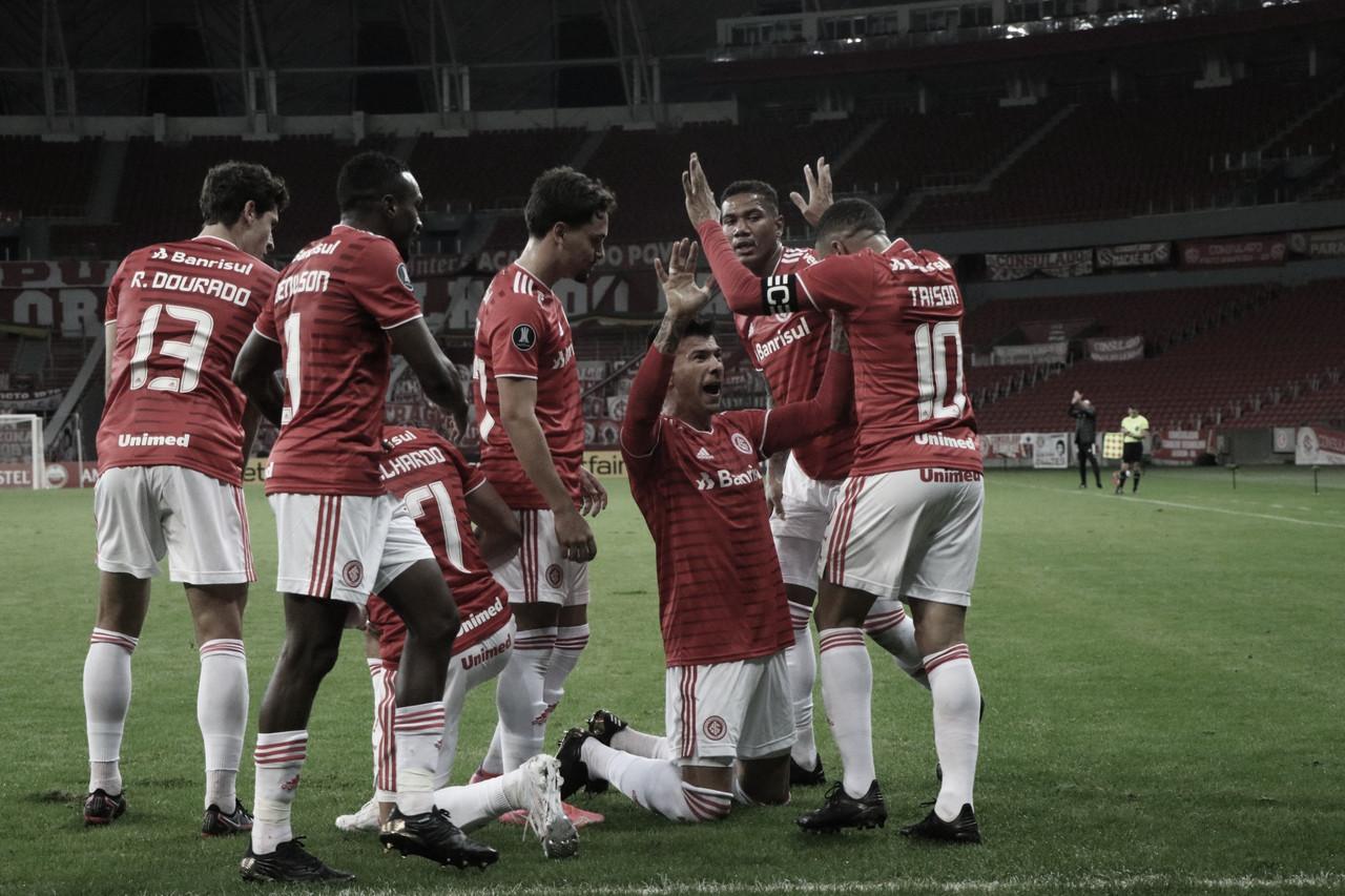 Internacional goleia Olimpia pela Libertadores na reestreia de Taison
