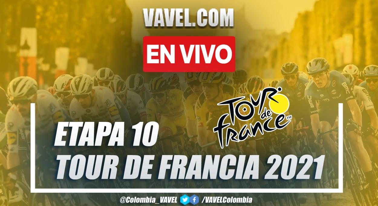 Resumen etapa 10 Tour de Francia 2021: Albertville - Valence