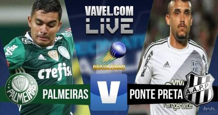 Resultado Palmeiras x Ponte Preta no Campeonato Brasileiro (2-2)
