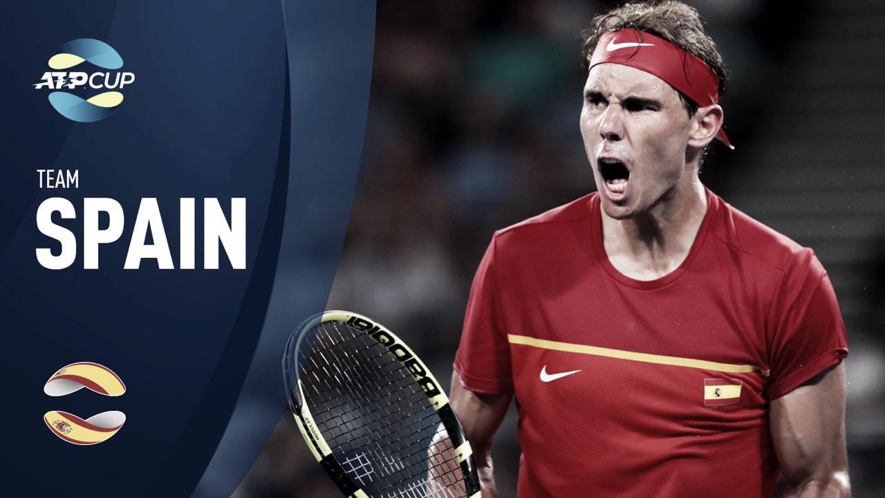 ATP Cup: Apesar da derrota de Nadal, Espanha supera Bélgica e encara a Austrália na semifinal