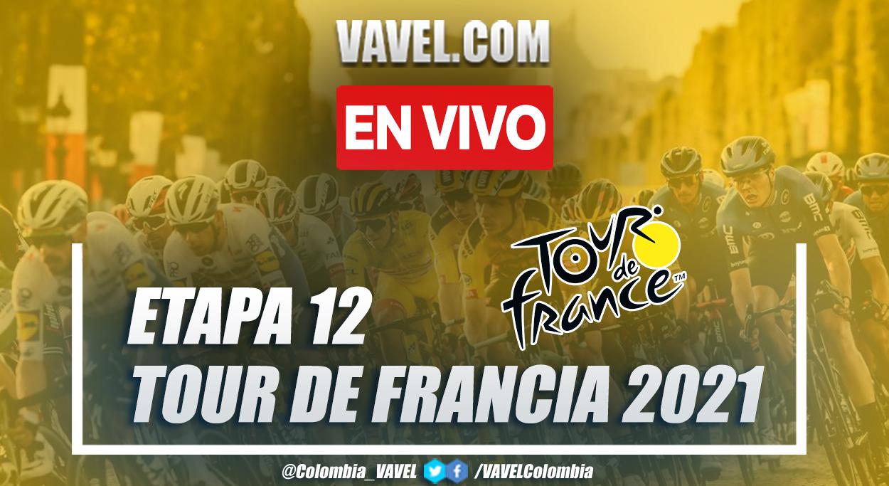 Etapa 12 Tour de Francia EN VIVO y en directo online entre Saint Paul Trois Châteaux - Nîmes