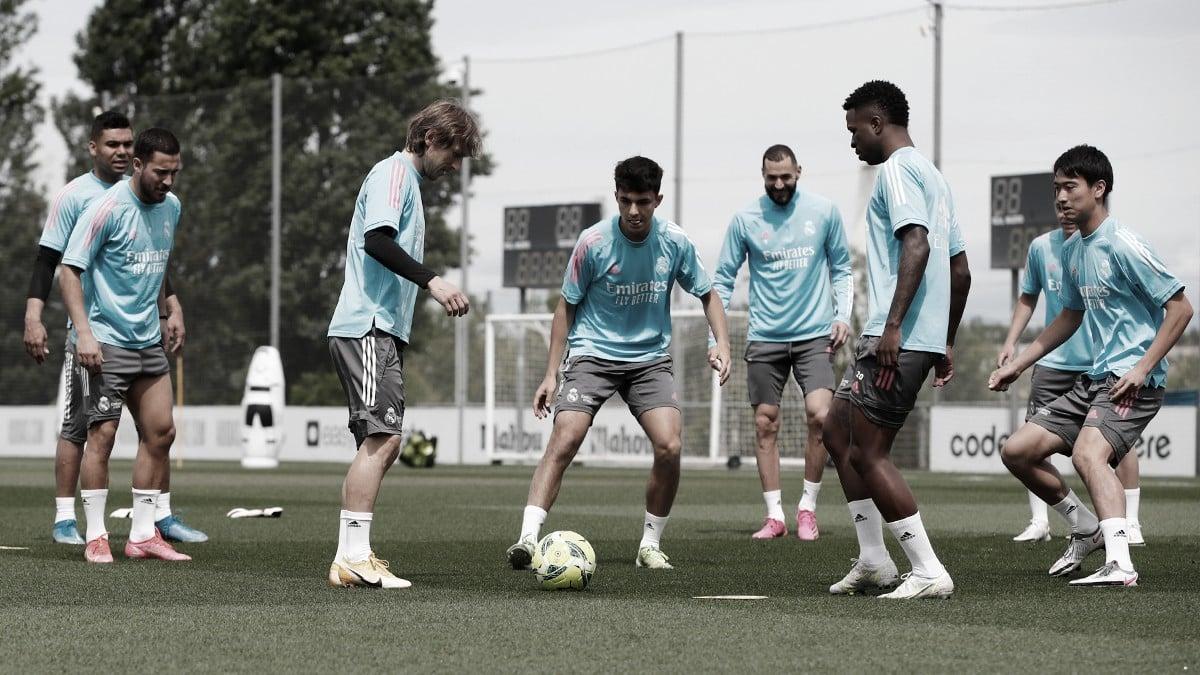 Convocatoria Real Madrid para enfrentar a el Athletic Bilbao