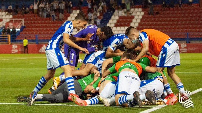 Real Sociedad B 2-1 Andorra FC: a un paso de segunda división