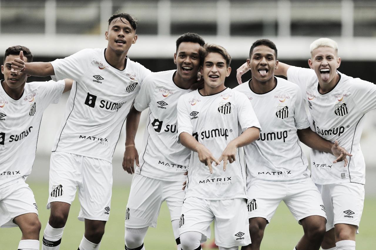 Matheus Lima se destaca, Santos vence Sport e se recupera no Brasileirão Sub-17
