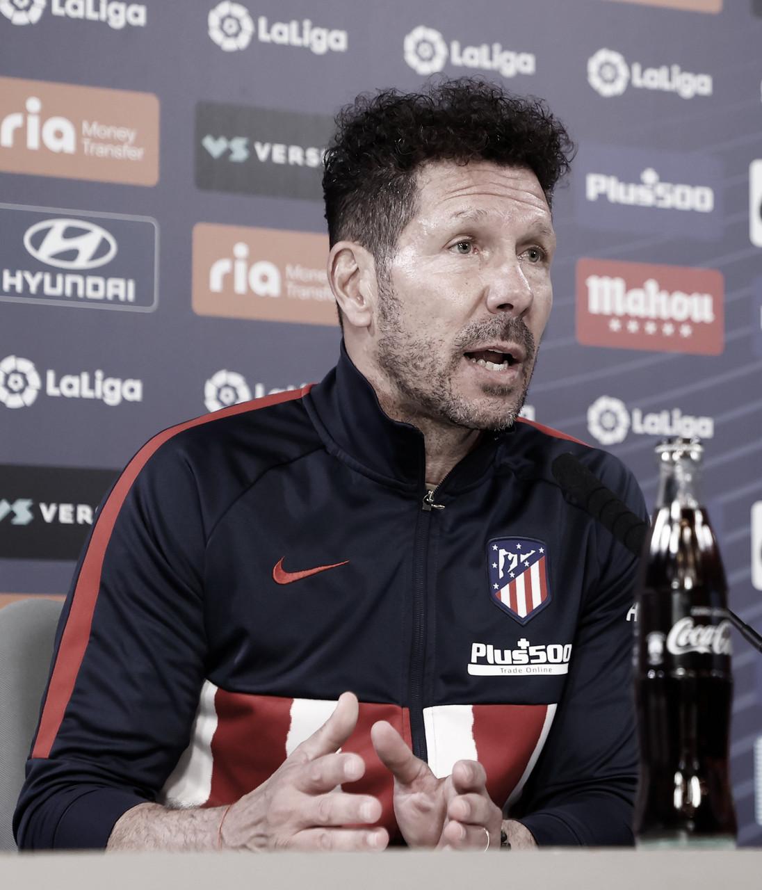 "Simeone:""Me preocupo de lo que me ocupa, yo soy entrenador"""