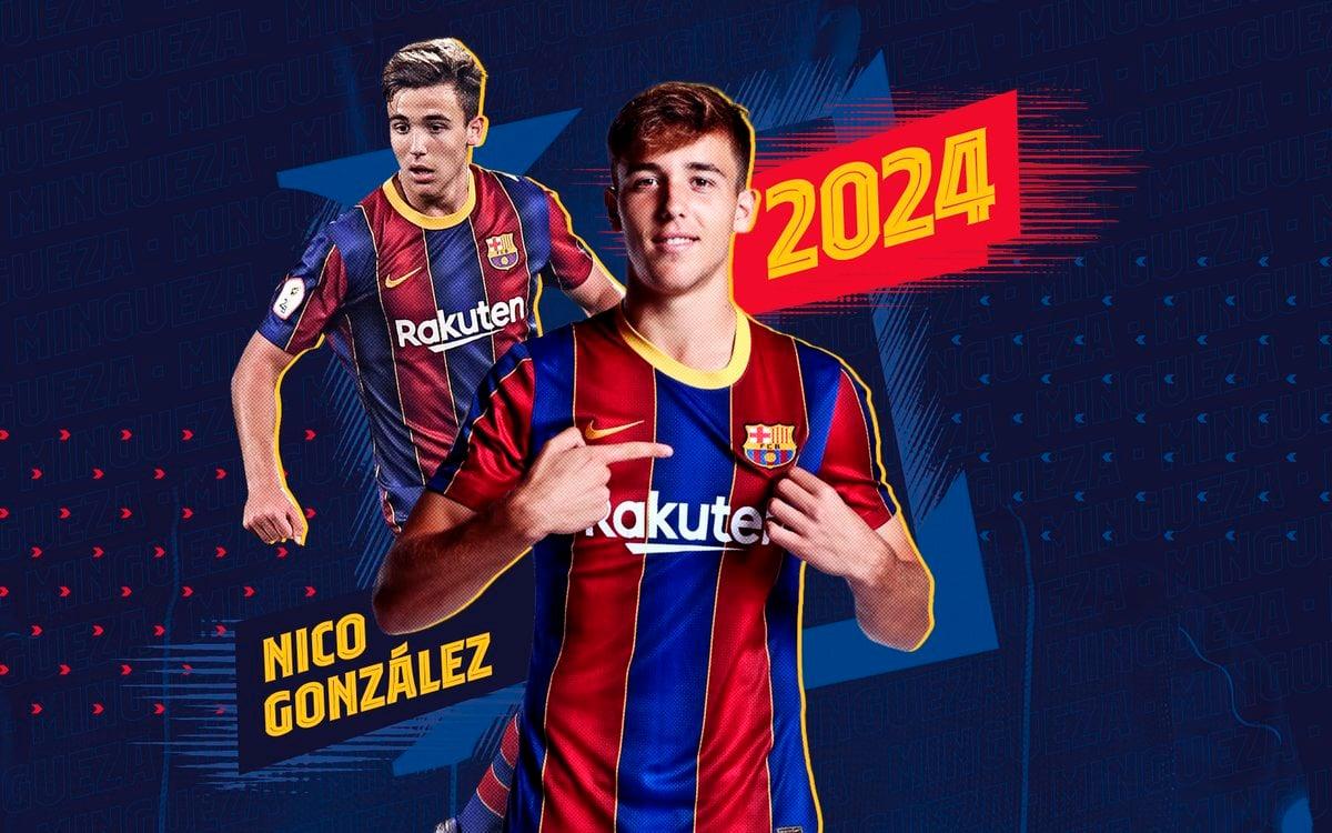 Nico González renueva con el Fútbol Club Barcelona