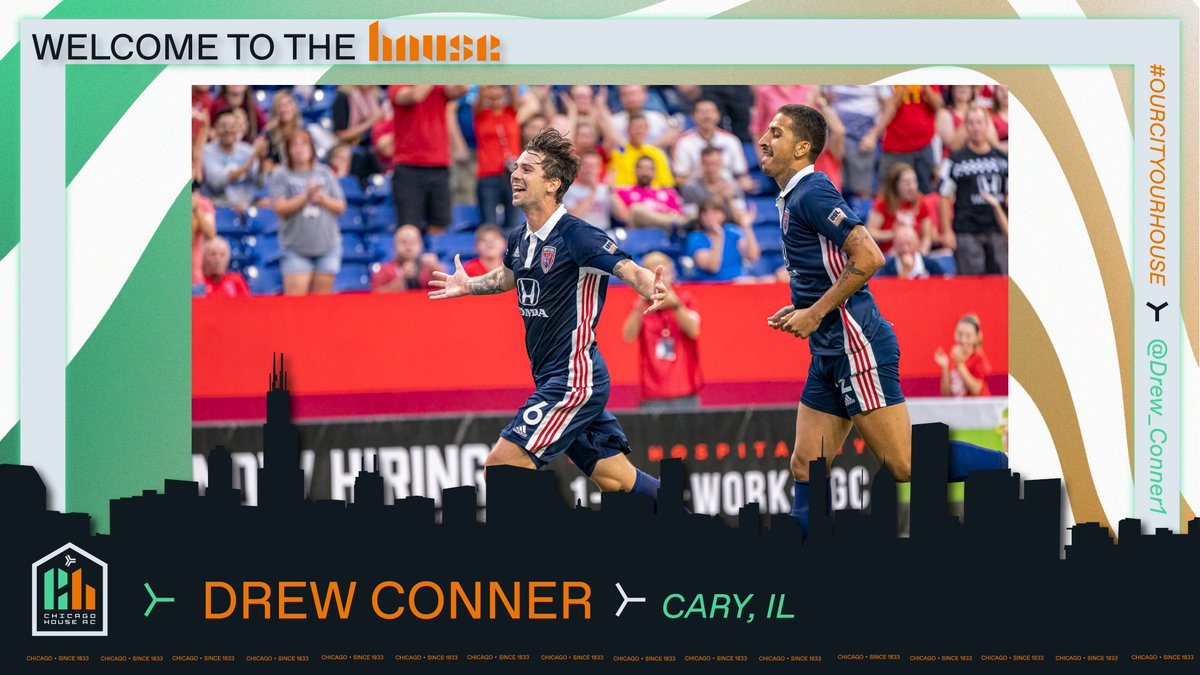 Speaking to Drew Conner, the first signing in Chicago House AC history