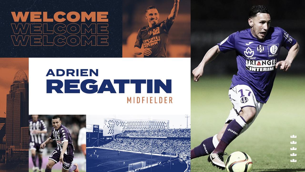 Adrien Regattin ficha por FC Cincinnati