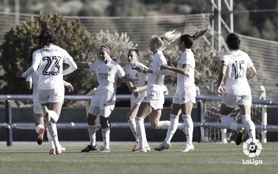 El Real Madrid, segundo, a un punto del líder y en plazas europeas