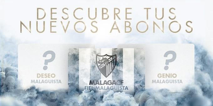 Los nuevos abonos del Málaga CF