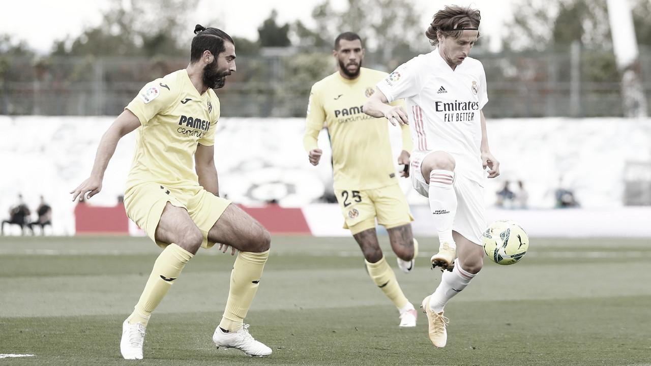 Real Madrid busca virada diante do Villarreal em LaLiga