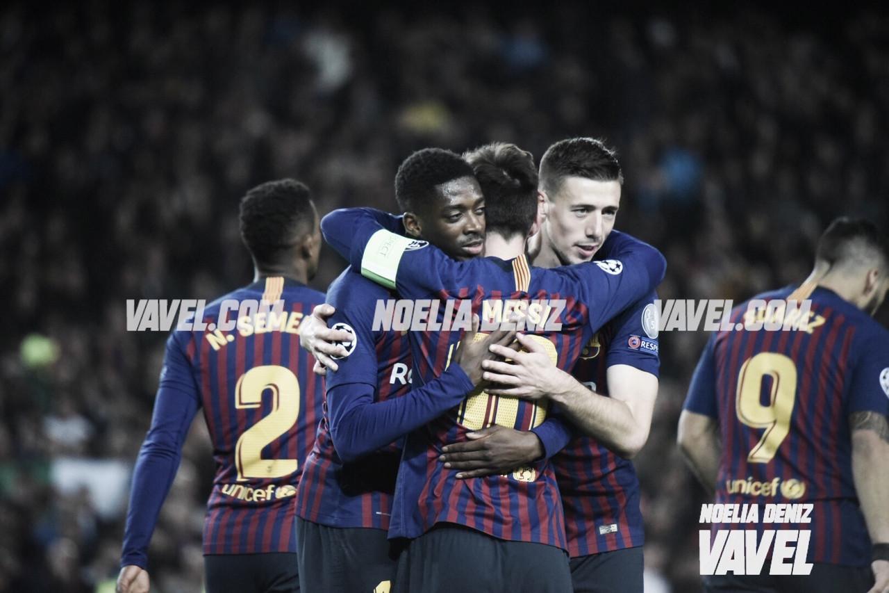 El Barça pasa con solvencia el examen ante el Lyon y estará en cuartos de Champions
