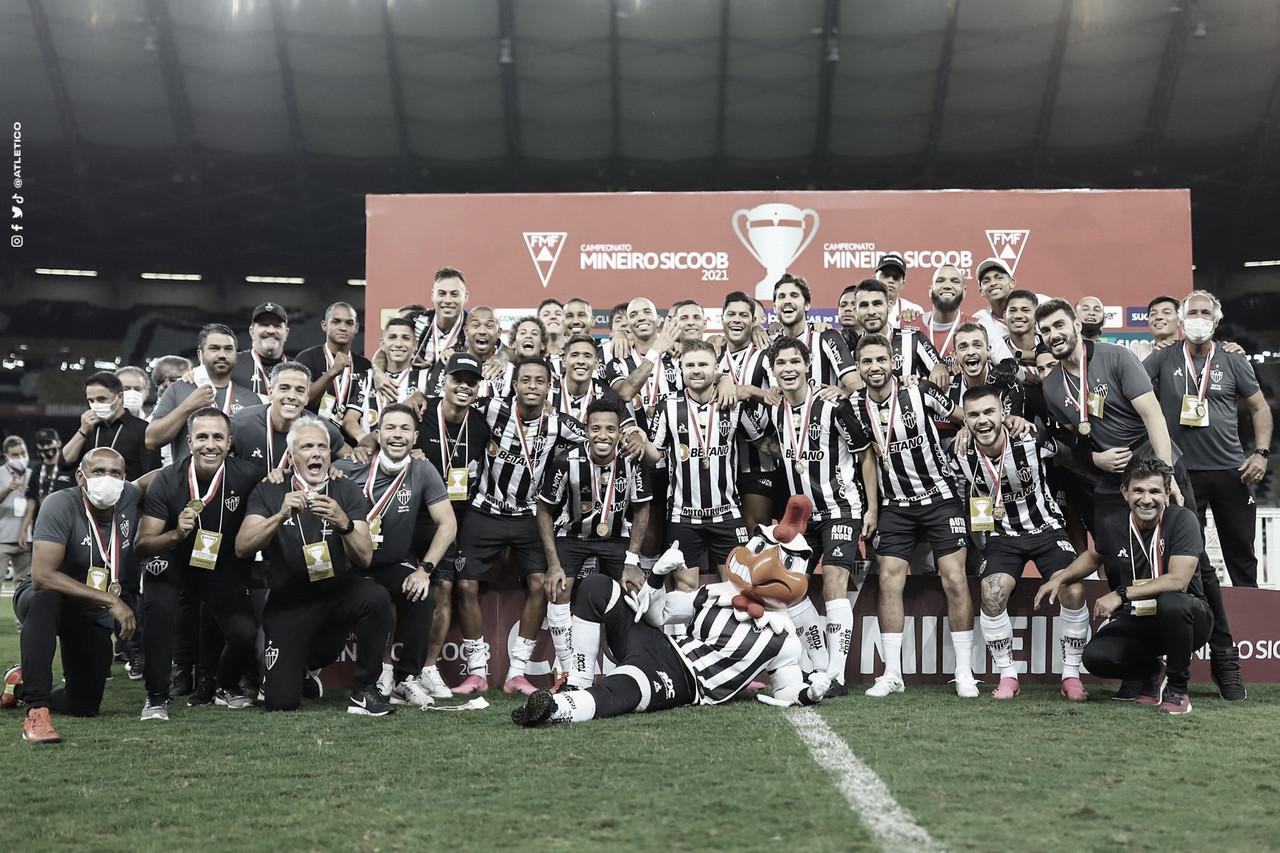 Atlético-MG empata com América-MG e conquista o bicampeonato do Mineiro