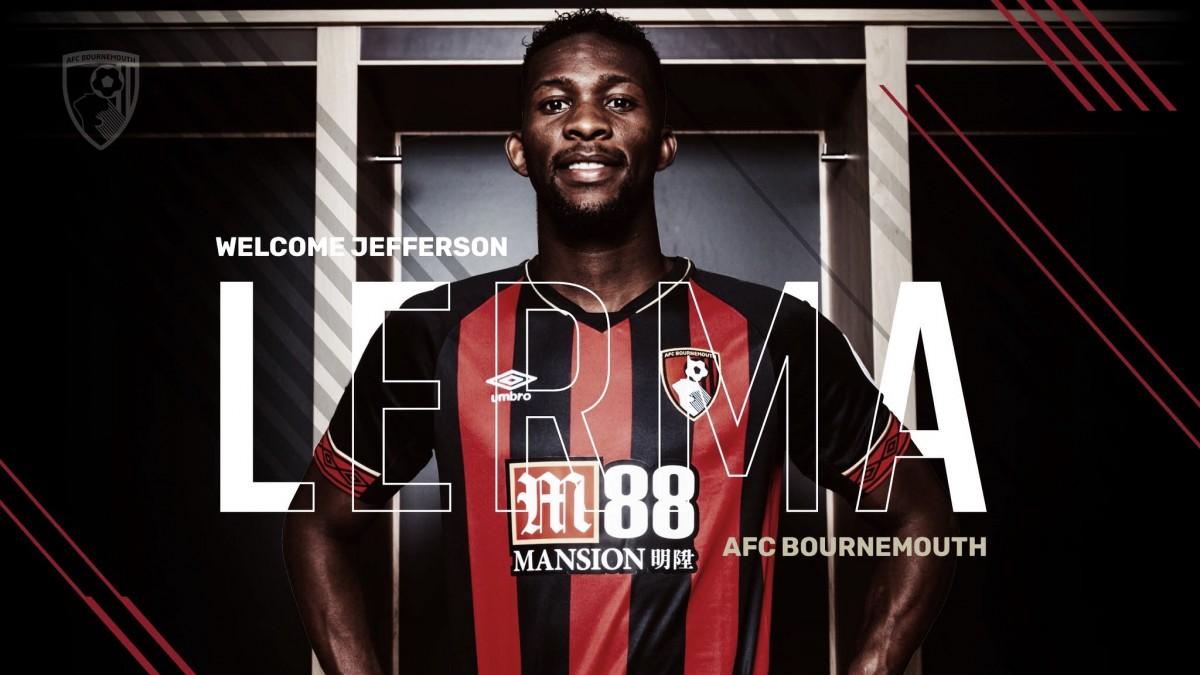 Bournemouth bate seurecorde de transferência e anuncia Jefferson Lerma, ex-Levante