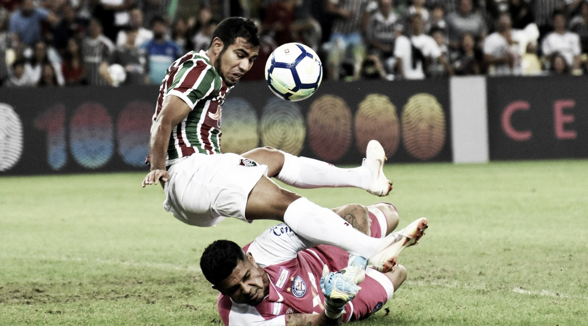 Jogadores do Fluminense reclamam de desatenção da equipe no empate com Bahia