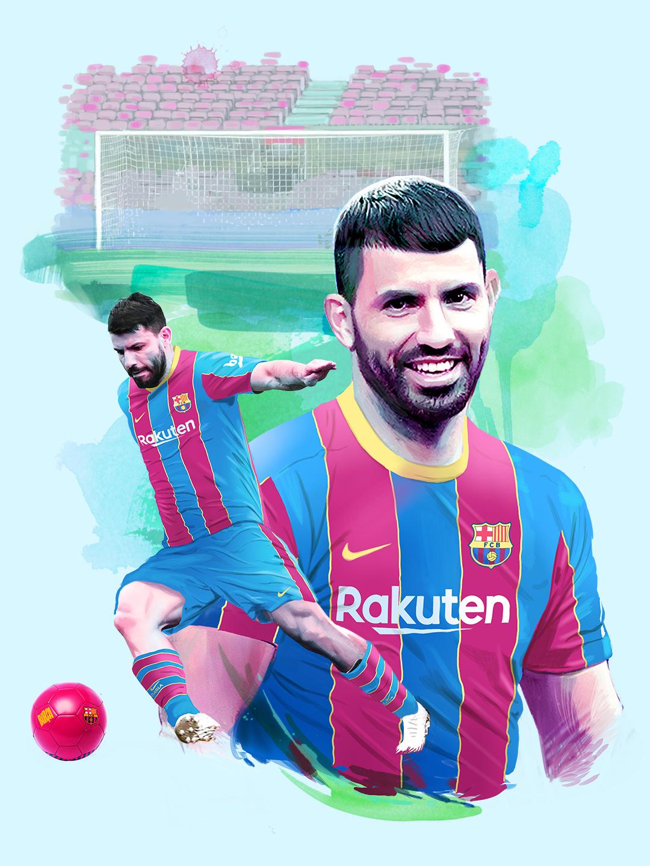 OFICIAL: el Barça ficha al Kun Agüero