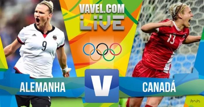 Alemanha vence o Canadá no futebol feminino dos Jogos Olímpicos (2-0)