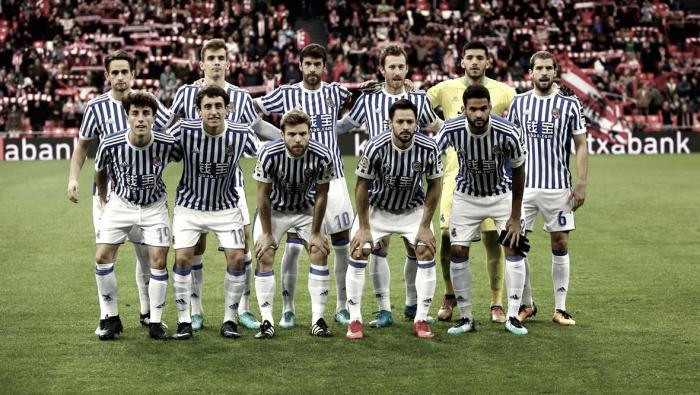 Athletic Club- Real Sociedad: puntuaciones de la Real Sociedad, jornada 16 de Liga Santander