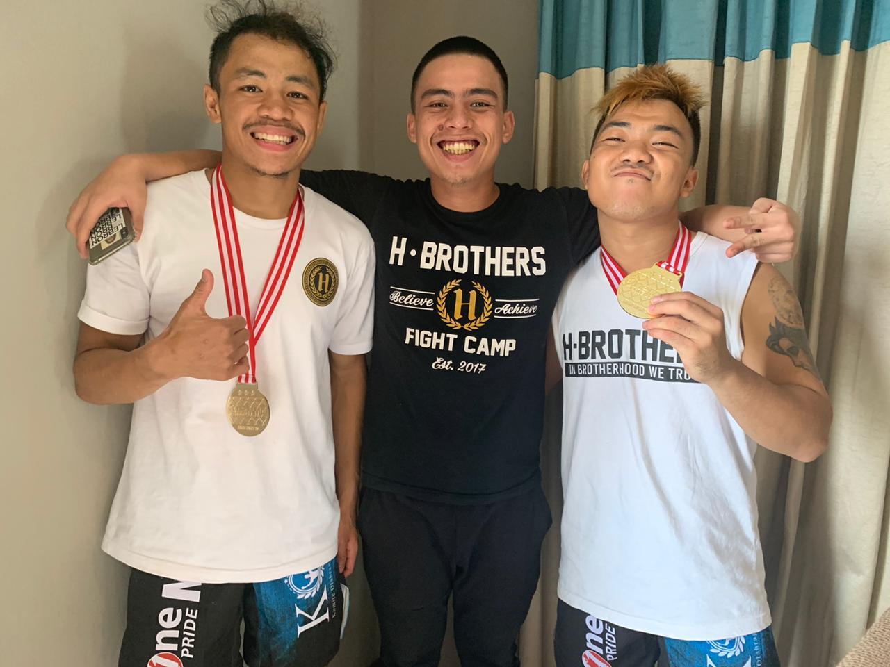 Duo Atlet H Brothers Tampil Memukau