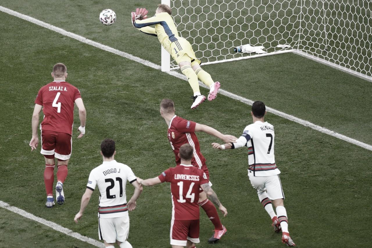 Hungary 0-3 Portugal: Ronaldo breaks European Championships goalscoring record