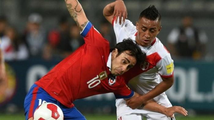 Resultado Chile x Peru (2-1)