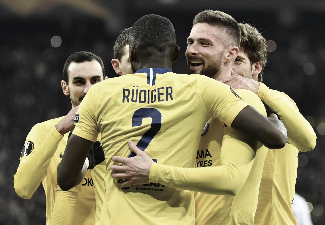 Chelsea atropela Dinamo de Kiev e avança na Liga Europa