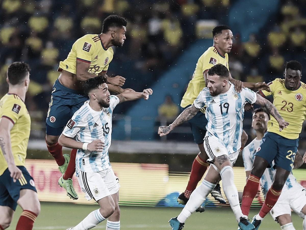 Colombia salva un empate 'in extremis' frente a Argentina