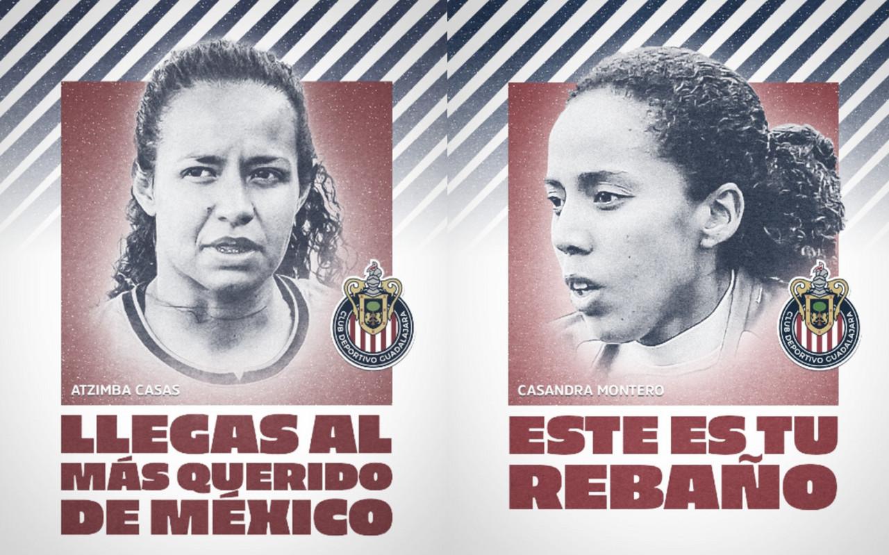 Chivas Femenil anuncia a sus primeros refuerzos