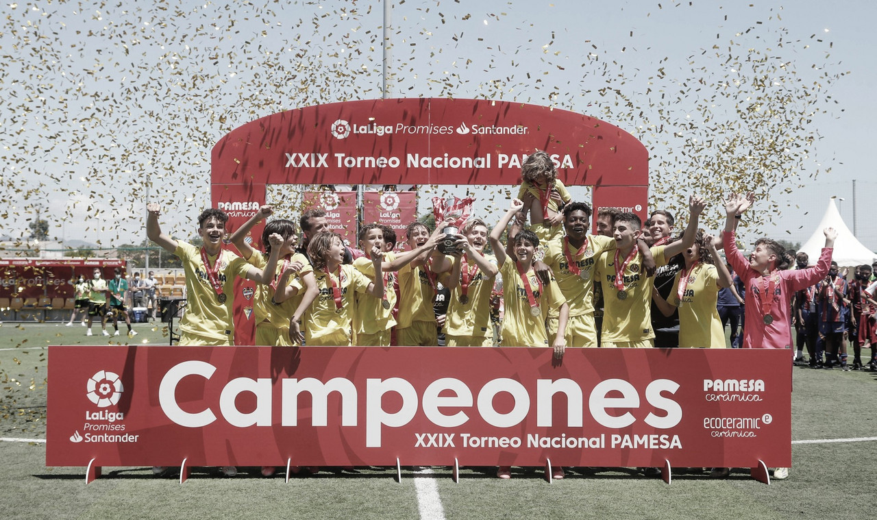 El Villarreal se proclama campeón de LaLiga Promises