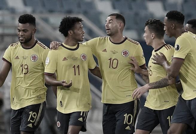 Colombia toma revancha e inicia la copa con victoria