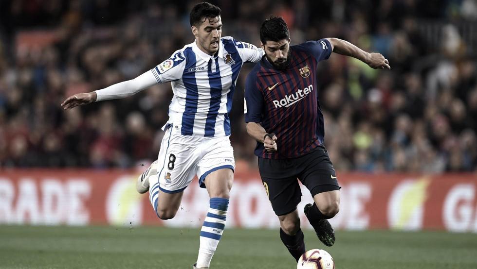 Real Sociedad y Barcelona cara a cara en el nuevo Reale Arena