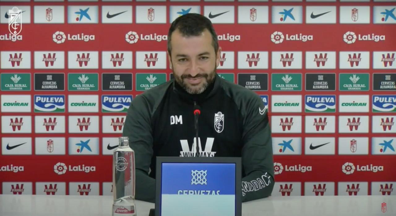 """Diego Martínez: """"Nos espera un partido de mucha exigencia"""""""