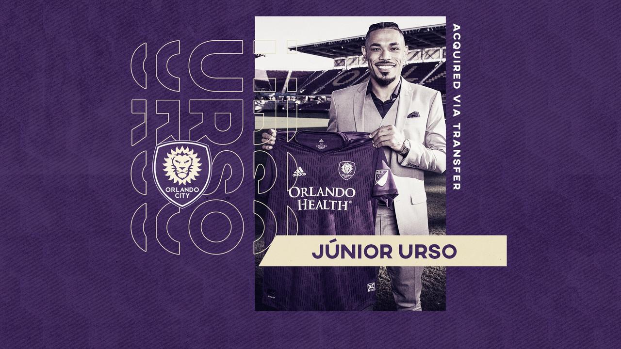 Orlando City incorpora a Júnior Urso
