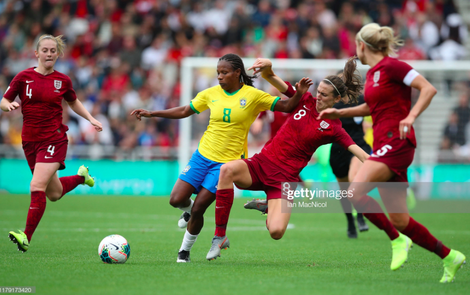 England women 1-2 Brazil women: Lionesses fail to make chances count