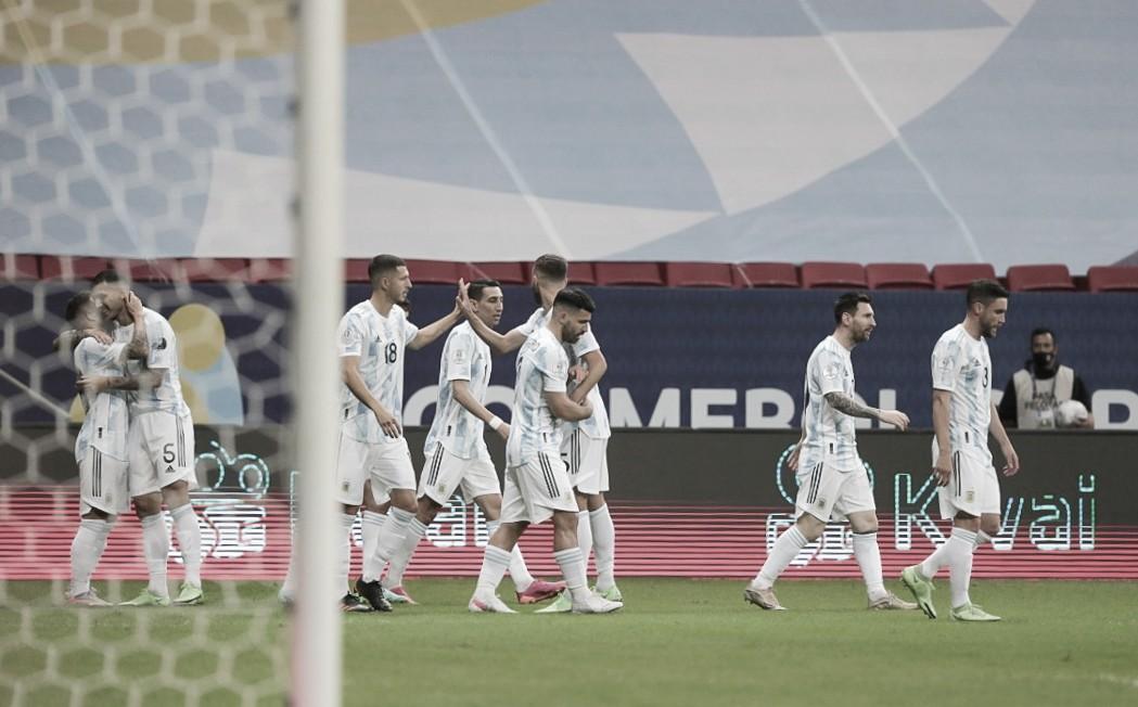 Argentina - Paraguay: puntuaciones de Argentina en la tercera jornada de la Copa América