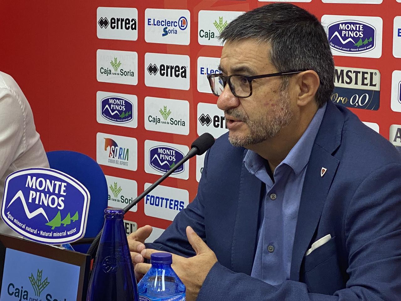 Santiago Morales devuelve la ilusión a Soria