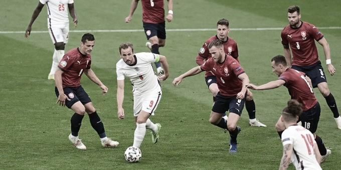 República Checa - Inglaterra: puntuaciones Inglaterra en la tercera jornada de la Eurocopa 2020