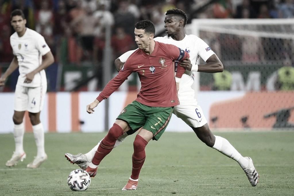 Empate de Portugal e França colocam ambas nas oitavas de final da Euro