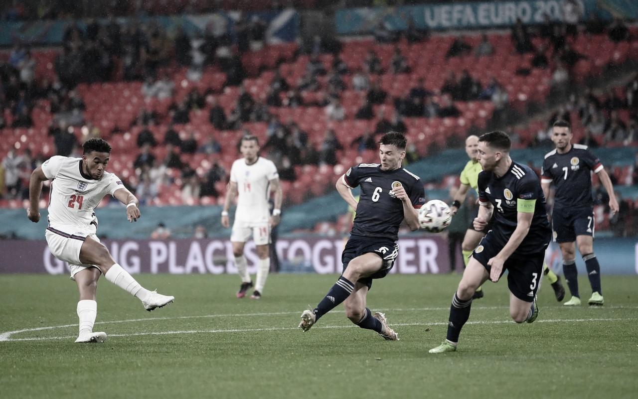 Inglaterra - Escocia: Puntuaciones de Inglaterra en la 2da jornada de la Eurocopa 2020