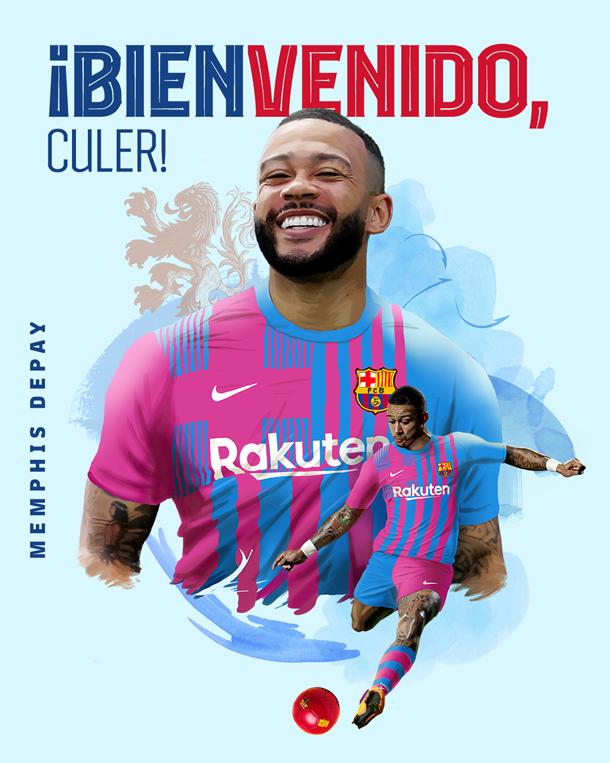 Depay ficha por el FC Barcelona
