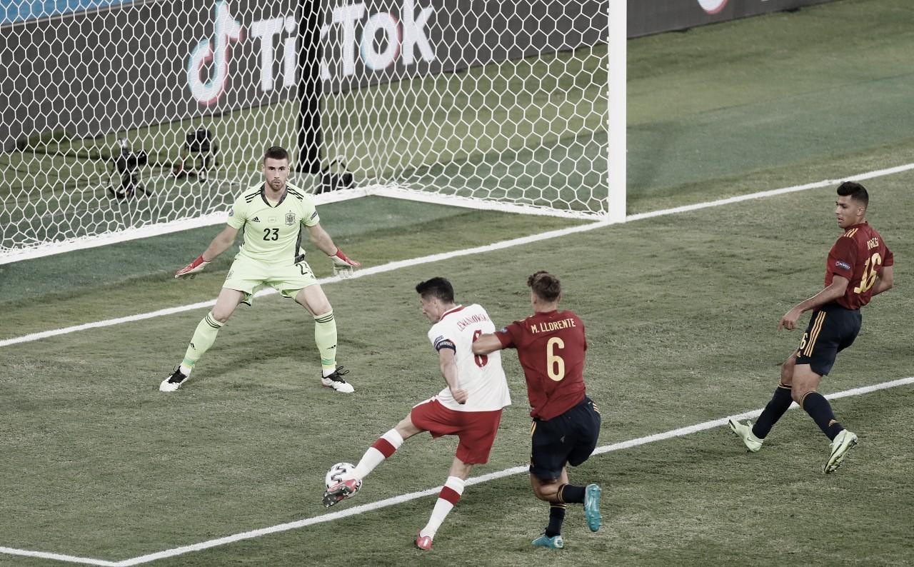 España 1-1 Polonia: segundo empate al hilo de 'La Roja' en la Euro