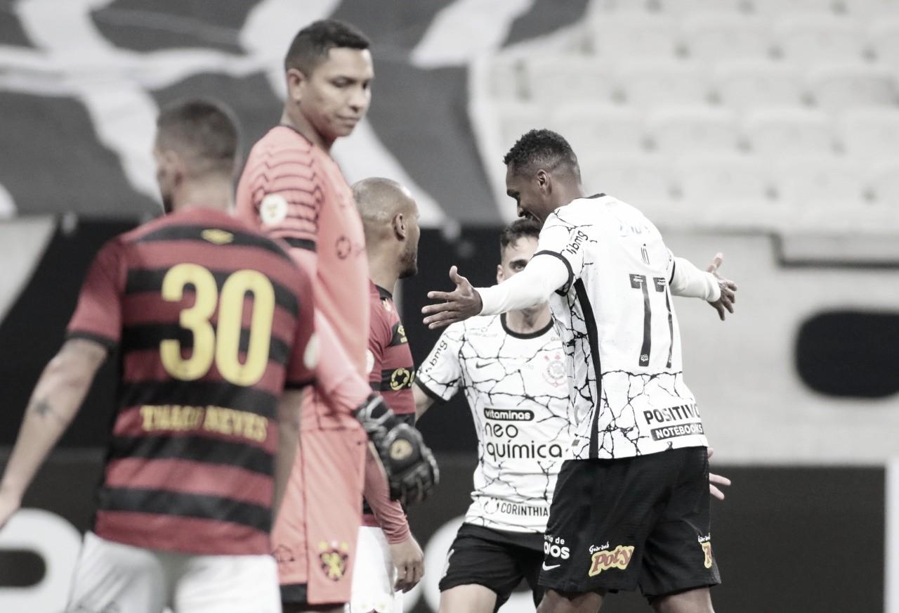 Em constante evolução, Corinthians derrota Sport e soma primeira vitória em casa