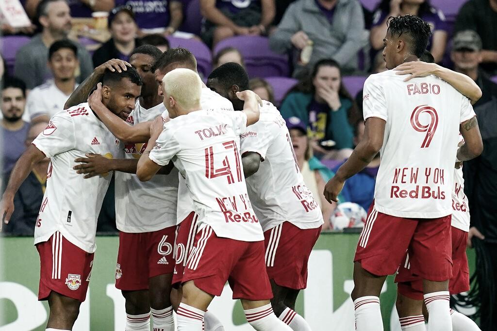 New York Red Bulls sorprende a Orlando