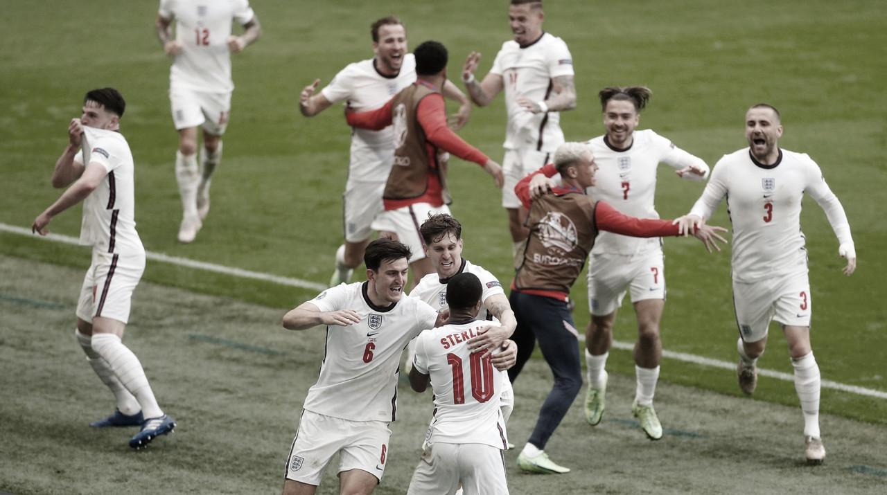 Inglaterra - Alemania: puntuaciones de Inglaterra en los octavos de final de la Euro 2020