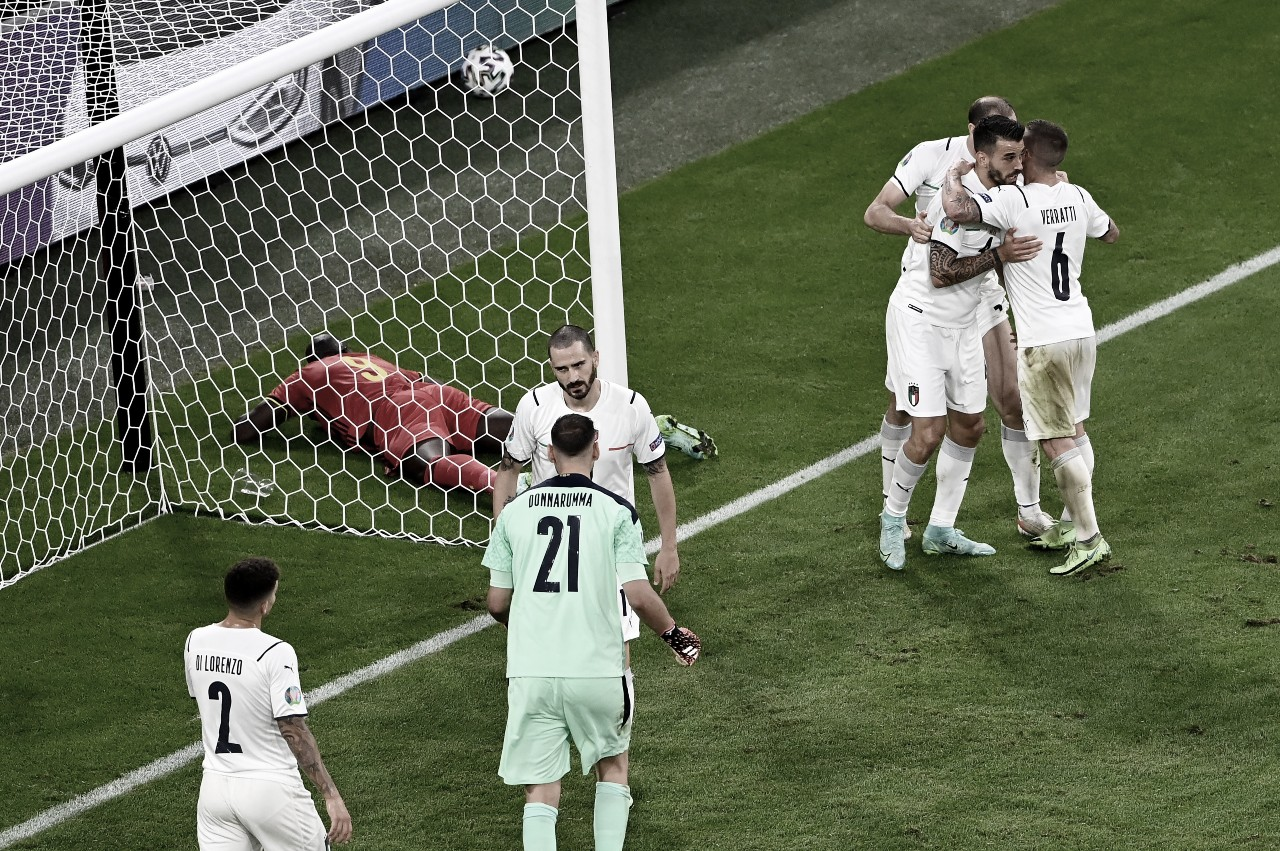 Italia elimina a Bélgica y se enfrentará a España(1-2)