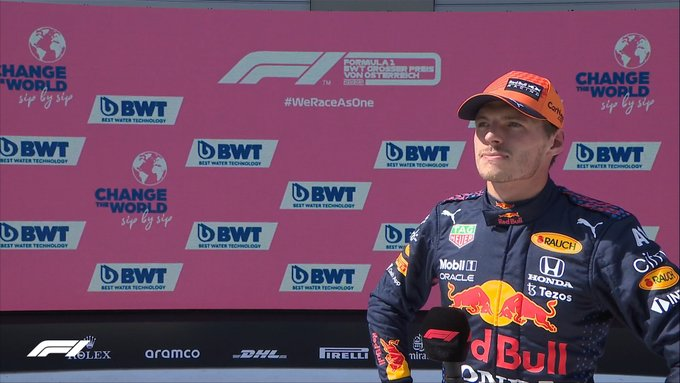 F1, Gp Austria: Pole di uno straordinario Max Verstappen
