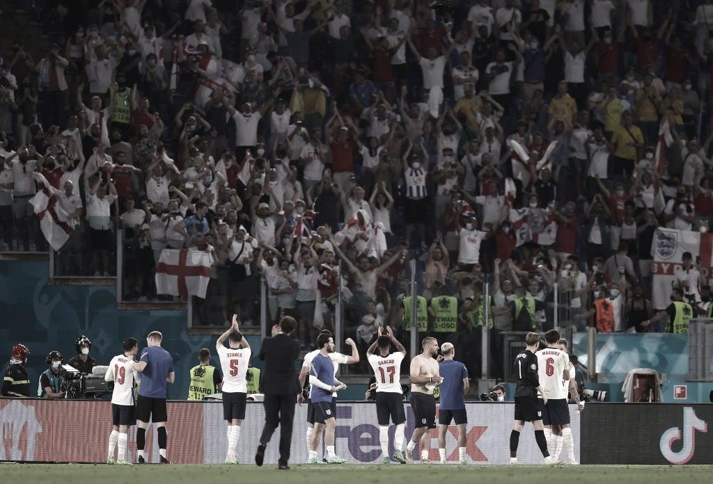 Ucrania - Inglaterra: Puntuaciones de Inglaterra en los cuartos de final