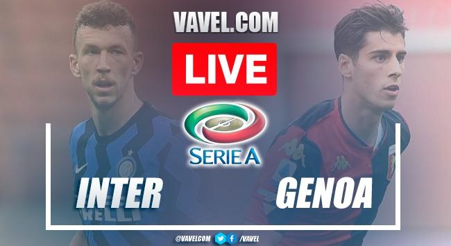 Goal and highlights Inter 4-0 Genoa en 2021 Serie A
